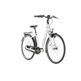 Cube Town Hybrid Pro 400 E-City Bike Easy Entry white